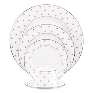 Kate Spade-Larabee Road 5 Piece Place Setting